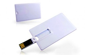 USB Credit Card Flash Drive