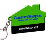 Custom Plastic Keyrings NZ – Die Cut Shapes