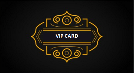 sample vip card